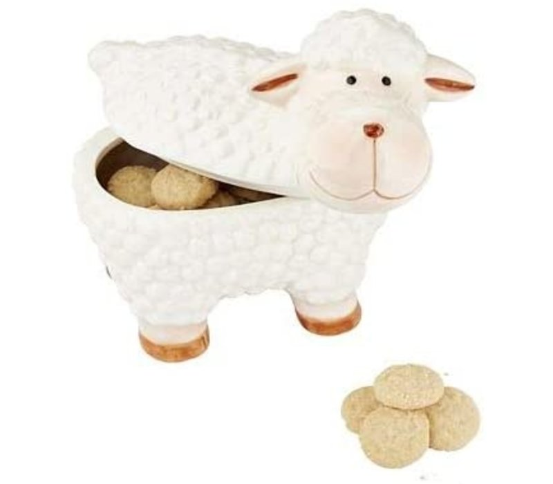 Woolly The Sheep Ceramic 100g 6st