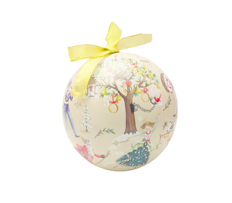 12 Days of Christmas Bauble 200g 6st NIEUW