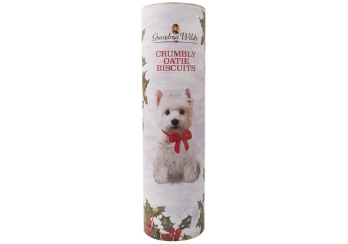 Grandma Wild's Giant Traditional Scottie Dog Tube 200g 9st NIEUW