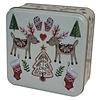 Grandma Wild's Embossed Two Festive Reindeers Tin 160g 6st