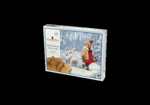 Grandma Wild's Young Girl & Goose Shortbread Box 300g 6st