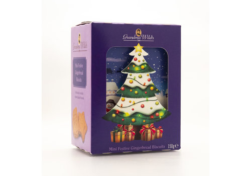 Grandma Wild's 3D Christmas Tree Box150g 12st