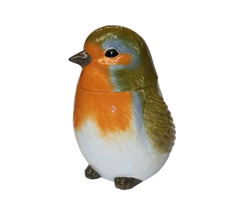Ceramic Christmas Robin 150g 6st