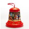 Grandma Wild's Embossed Christmas Bell Tin 100g 6st