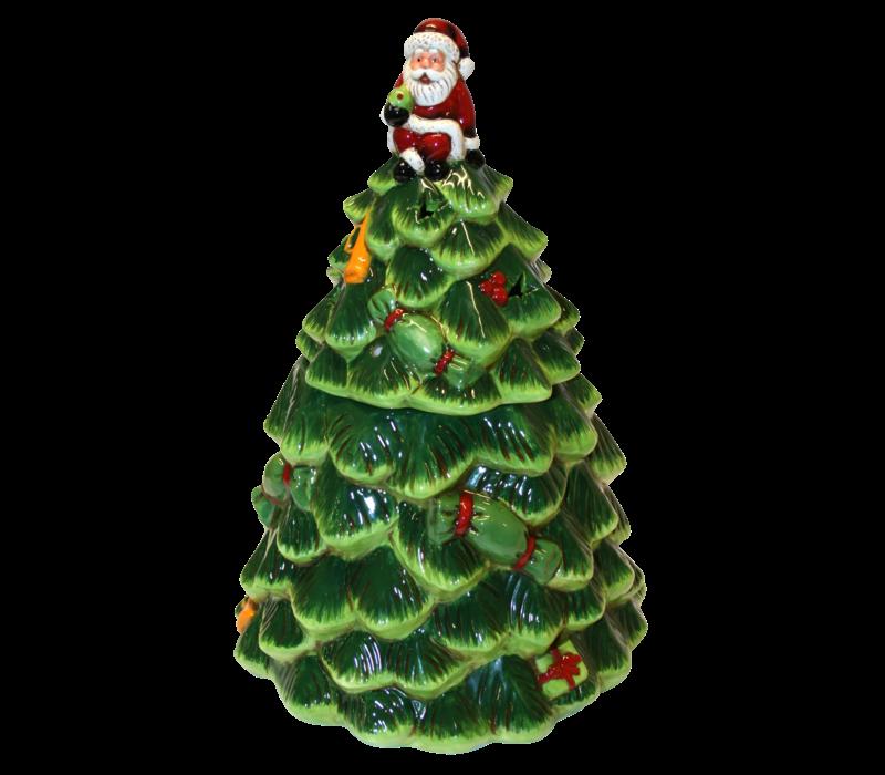 Ceramic Christmas Tree with Lights 150g 6st