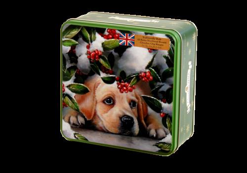 Grandma Wild's Embossed Puppy with Berries Tin 160g 6st