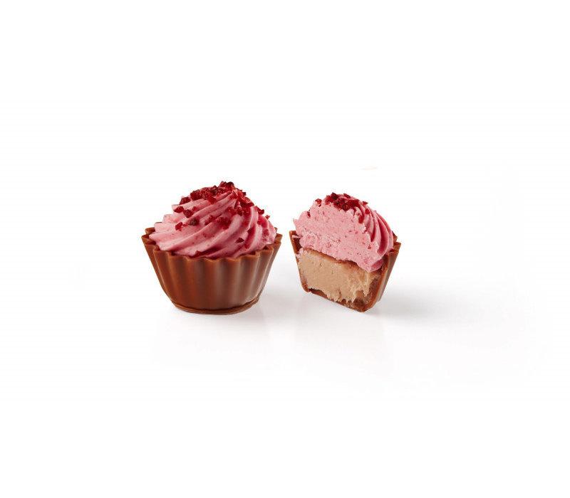 Cupcake Roze Zure Kers 19,2g 1kg