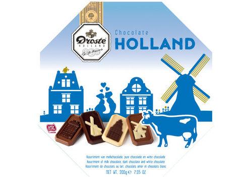 Droste Droste Holland Edition blauw 200g 6st