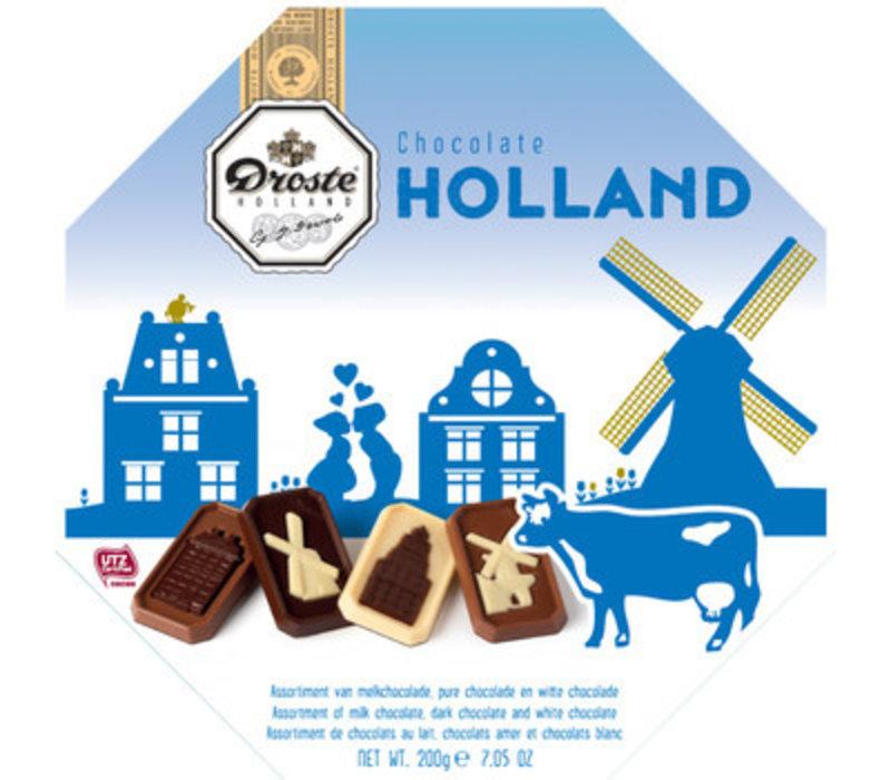 Droste Holland Edition blauw 200g 6st