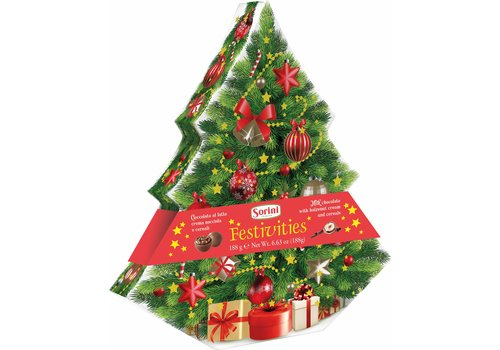 Sorini Sorini Christmas Tree box 175g 8st