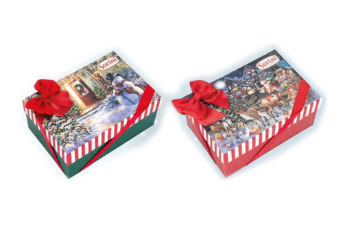 Sorini Sorini Classic Christmas box 300g ass 6st NIEUW