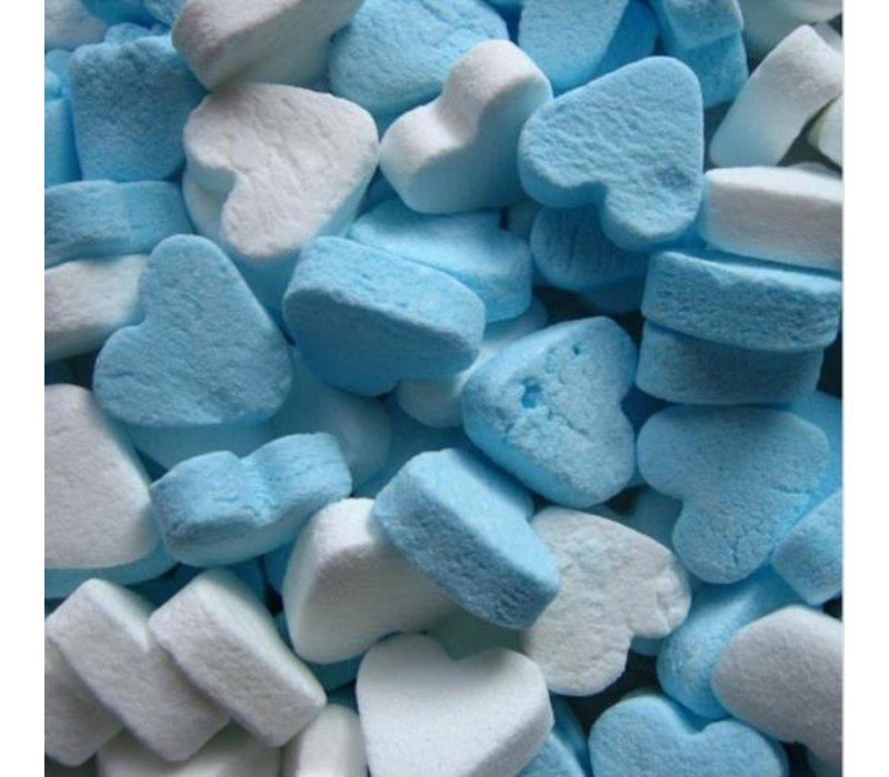 Mini Pepermunt Hartjes blauw/wit 1kg