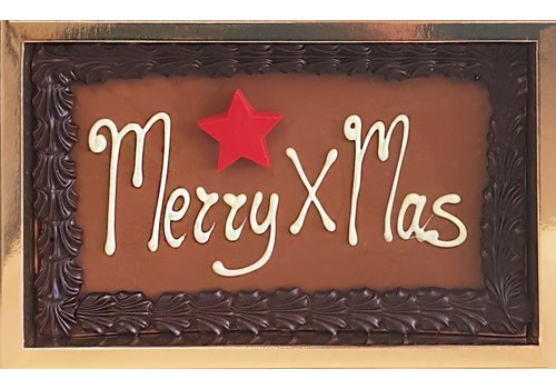 "Tablet ""Merry Xmas"" 275g 4st"