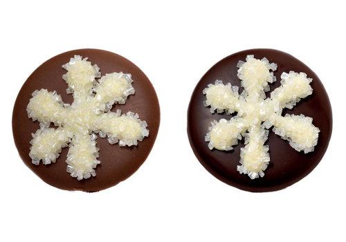 Flikjes met sneeuwkristal m-p ass 10,2g 2kg