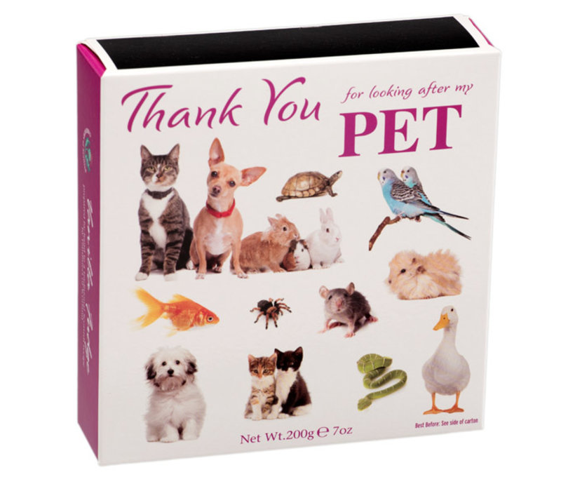 Thank You Pet Fudge carton 200g 12ds