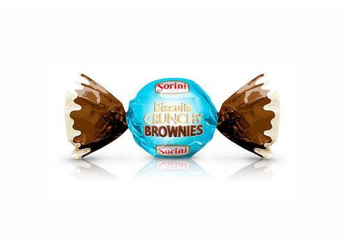 Sorini Biscuits Crunchy Brownie 1kg NIEUW
