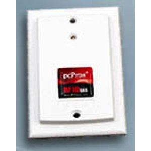 RDR-70W1BW0 pcProx Enroll HID iCLASS SE™Surface Mount White USB Virtual COM Reader