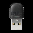 RDR-6E21AKU WAVE ID® Nano Keystroke125 kHz EM 410x Black Horizontal Nano USB