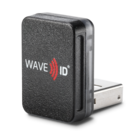 RDR-7512AKU WAVE ID® Nano SDK 13.56MHz CSN Black Vertical USB Readerader