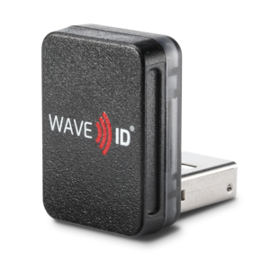 RDR-7012AKU WAVE ID® Nano SDK HID iCLASS SE & Seos Black Vertical USB Reader