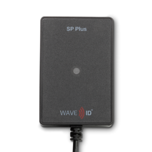 RDR-800H1AKU WAVE ID Plus for printers USB Black Reader with SIM for ICLASS SE and ICLASS Seos