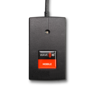 RDR-30581BKU-SFK Wave ID Plus BLE Keystroking Safetrust Black USB Reader  with Bluetooth® low energy technology