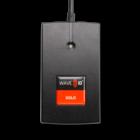 RDR-6081AK7-7E1 WAVE ID® Solo Keystroke HID™ Prox Black 9v ext p.s. RS232 7,E,1 Protocol Reader