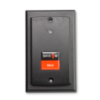 RDR-75W1AK9 WAVE ID® Solo Keystroke 13.56MHz CSN Wallmount Black 5v USB pwr tap RS232 Reader