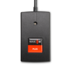 RDR-80081AK2 WAVE ID® Plus V2 Keystroke w/ iCLASS ID Black 5v PS/2 RS232 Reader