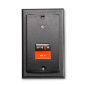 RDR-60W1AK5 WAVE ID® Solo Keystroke HID Prox Surface Mount Black 5v Pin9 RS232 Reader
