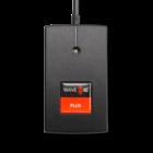 RDR-80581AK9 WAVE ID® Plus Keystroke Black 5v USB pwr tap RS232 Reader