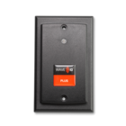 KT-800W1AKB-P-IP67  WAVE ID® Plus Keystroke V2 w/ iCLASS SE™ Wallmount IP67 Black EtherNet/IP POE Reader