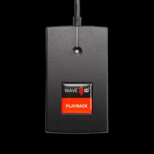 RDR-7585AKU-C06 WAVE ID® Playback MIFARE Black 6in. USB Reader