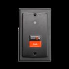 RDR-800W1AK6 WAVE ID® Plus V2 Keystroke w/ iCLASS SE™ Wallmount Black 9v Pin9 RS232 Reader