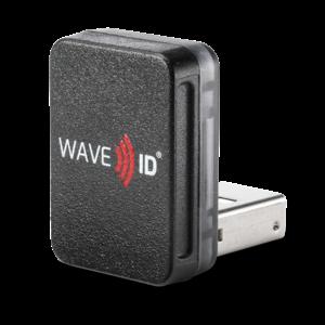 RDR-7L12AKU WAVE ID® Nano SDK LEGIC CSN Black Vertical USB Reader