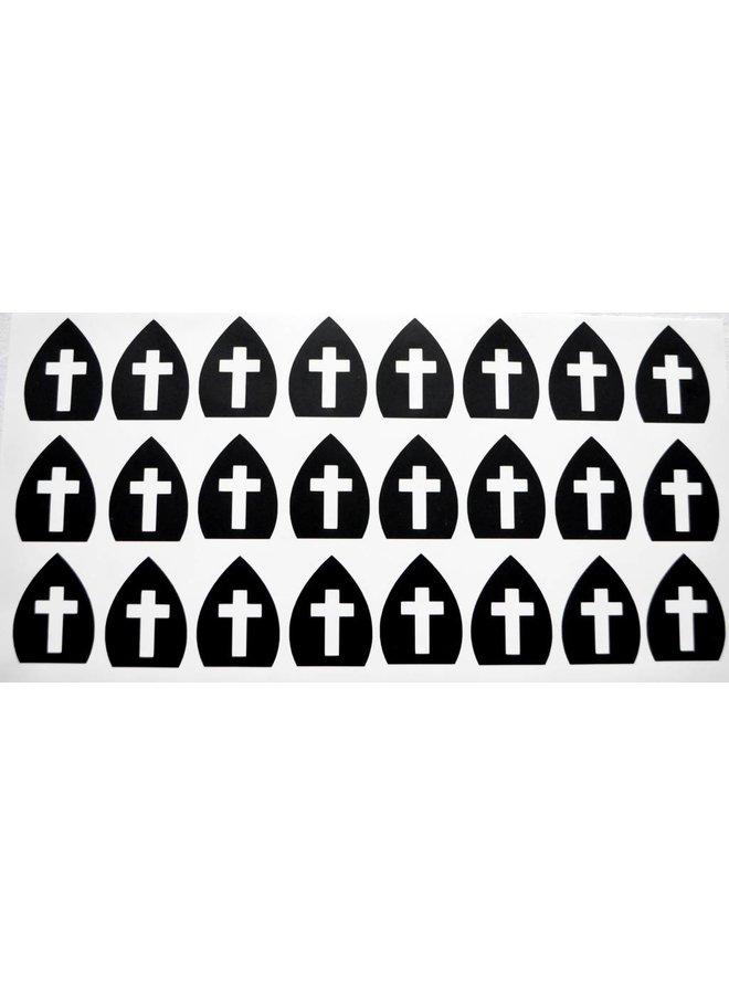 Sint stickers mijters