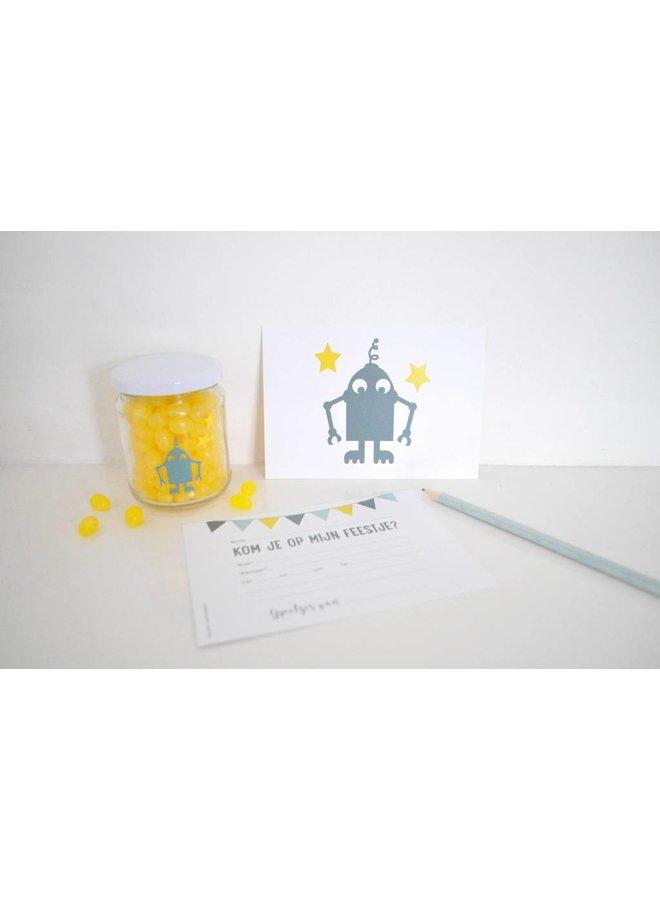 Uitnodiging Robot