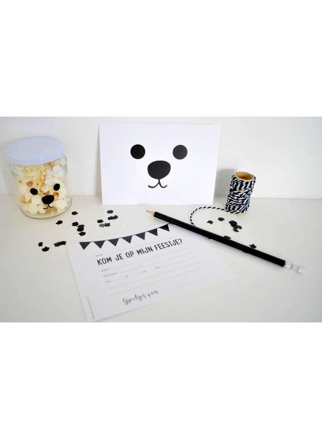 Uitnodiging Bear