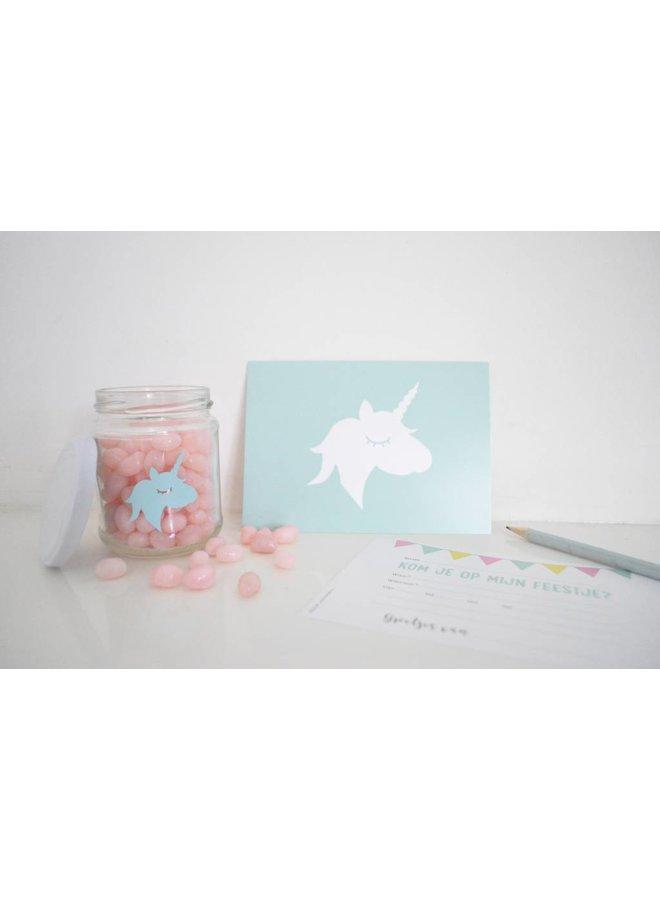 Uitnodigingen Unicorn