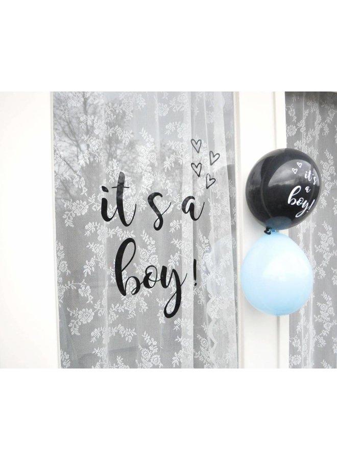 Geboortesticker It's a boy!