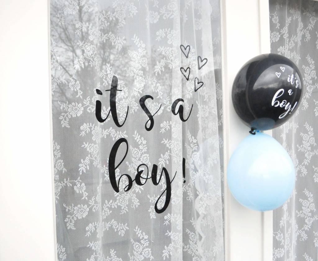 SuzyB Geboortesticker It's a boy!