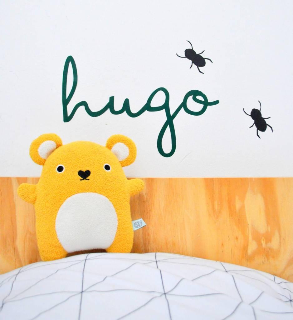 SuzyB Naamsticker Hugo