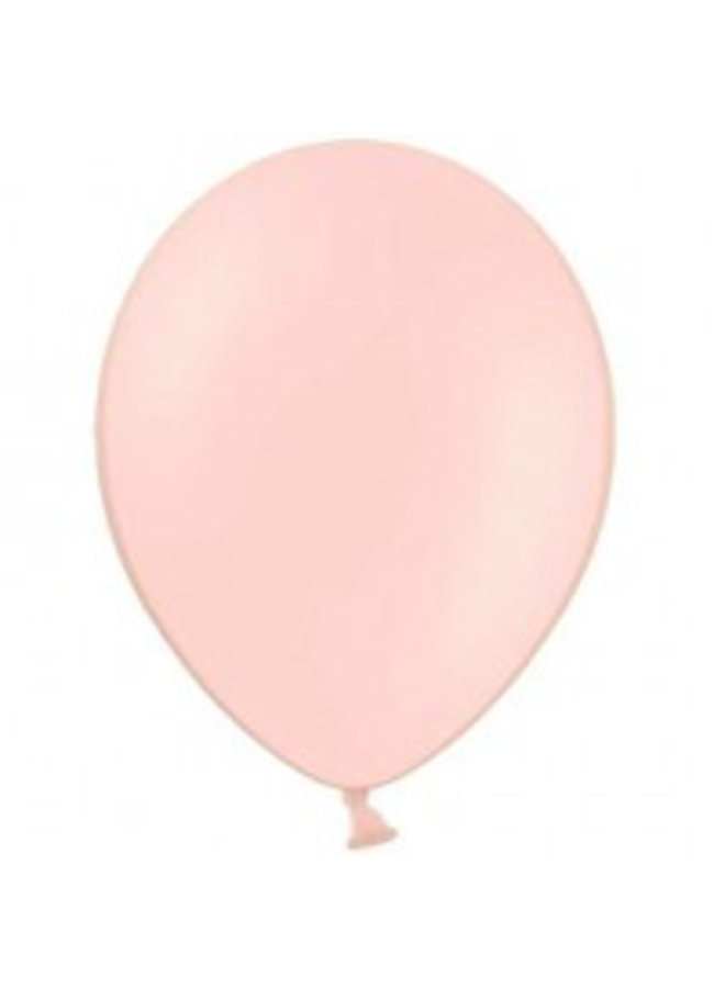 Mini ballon roze 10x