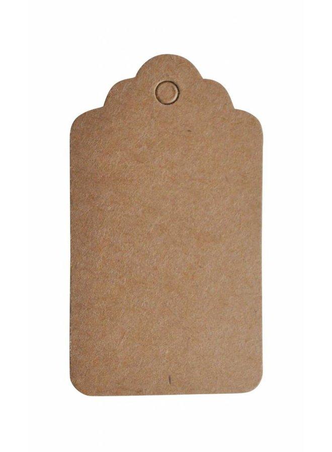 Label bruin 5x