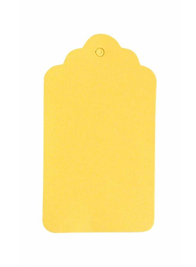 Label geel 5x