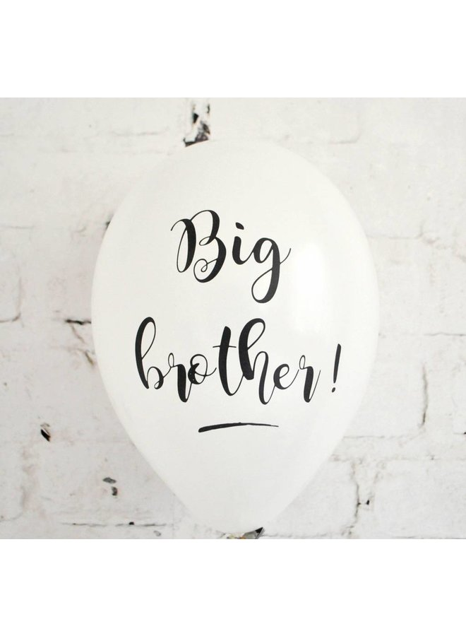 Big brother ballonnen