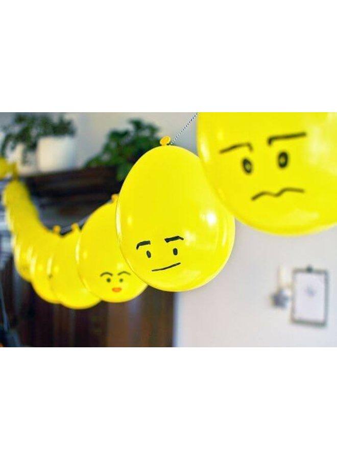 Gele Ballonnen 10x