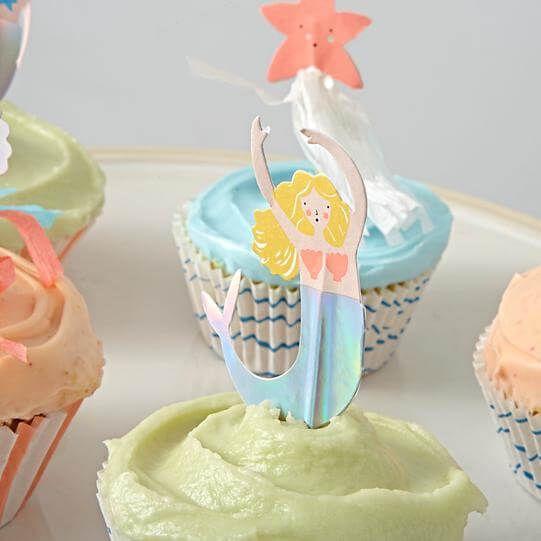 Let's be mermaid cupcakeset