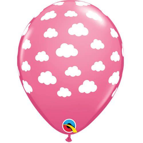 roze ballonnen met wolkjes - suzyb