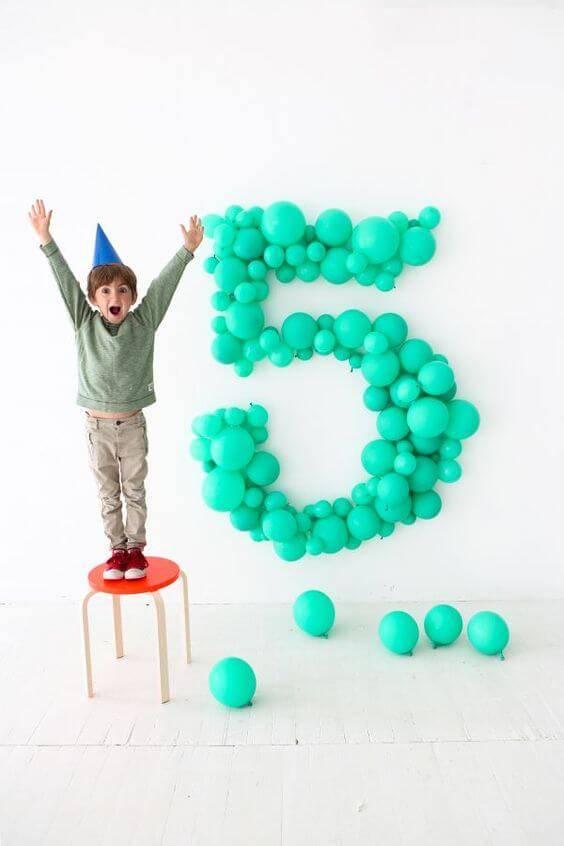 Groene Ballonnen 10x